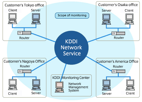 Network Management Service | KDDI Global