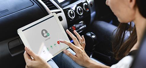 コネクティッドカー事例 In Car Wi-Fi