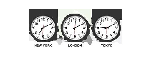 標準時刻に対応